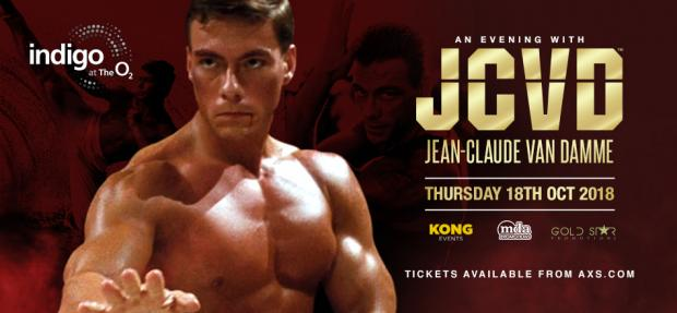 An Evening with Jean Claude Van Damme